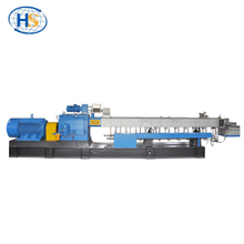TPU Rubber Recycle Twin Screw Extruder with Water Strand Cooling Pelletizing System