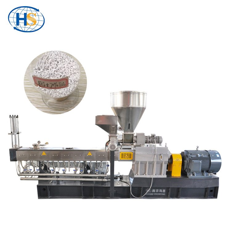 Artificial Grass Filler TPE/EPDM Rubber Granules Twin Screw Extruder