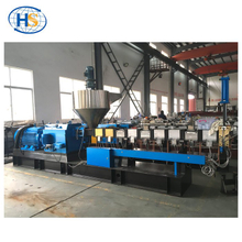 Plastic Recycle PET Pelletizing Twin Screw Extruder with Small Output