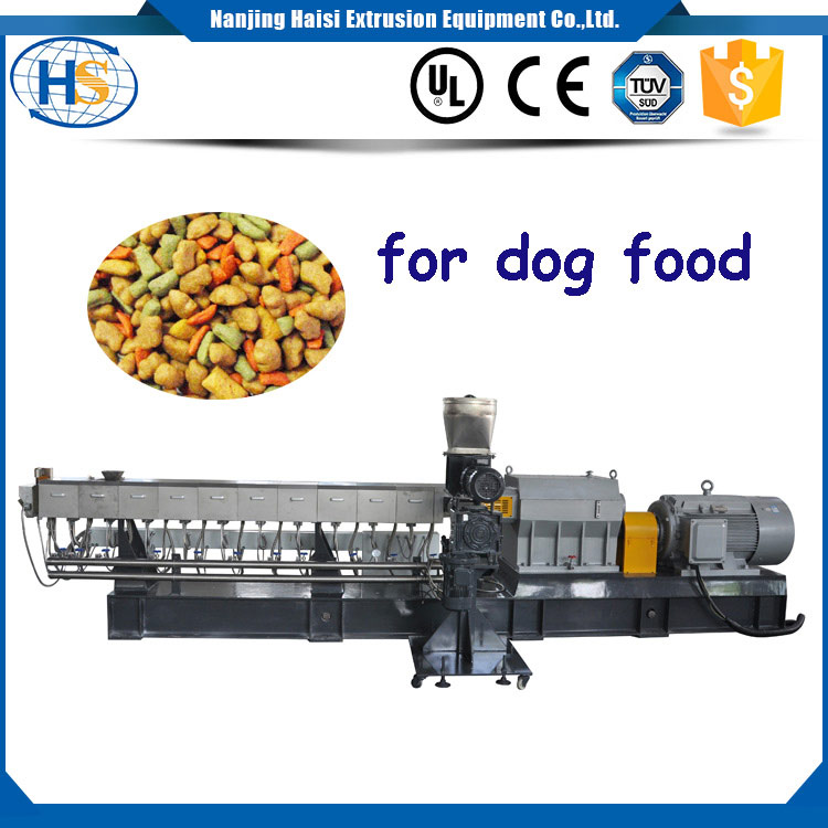twin screw Extruder Machine Pet Food Production Line for Dog treating