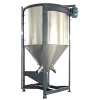Vertical Plastic Mixing Silo with Large Capacity
