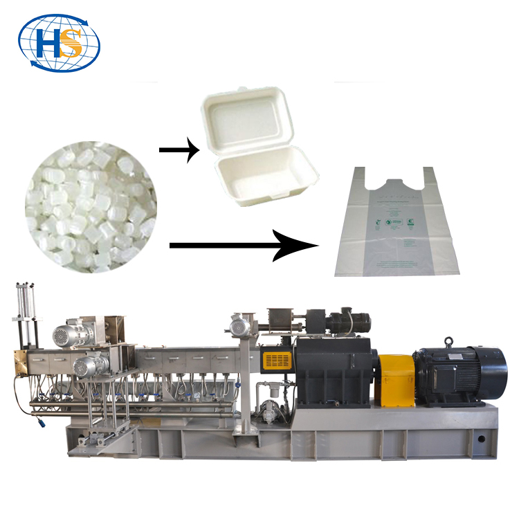 Nylon extrusion compounding Twin Screw Extruder