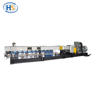 TSE-95D Twin Screw Extruder for Short Glass Fiber Reinforced Plastic Granules Making